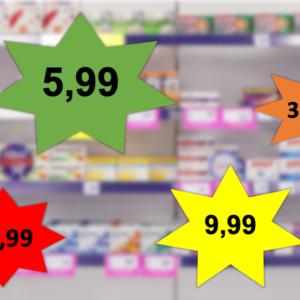 Cena w kolorowej gwiazdce narusza zakaz reklamy aptek