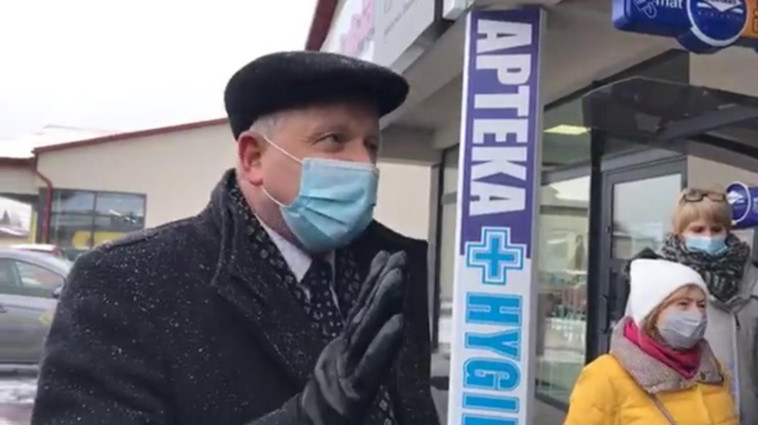 Burmistrz Kalwarii Zebrzydowskiej jest oburzony opóźnieniem otwarcia nowej apteki (fot. screen FB)