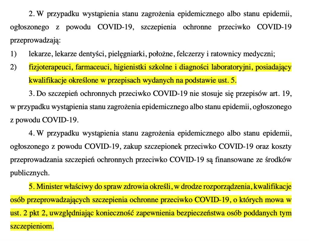 Projekt ustawy o zmianie ustawy o szczególnych rozwiązaniach związanych z zapobieganiem, przeciwdziałaniem i zwalczaniem COVID-19, innych chorób zakaźnych oraz wywołanych nimi sytuacji kryzysowych oraz niektórych innych ustaw (druk sejmowy 828)